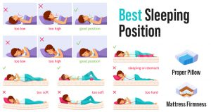 What is The Best Sleeping Position - Healthiest Way to Sleep