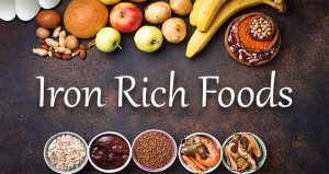 Iron-Rich Foods: Meat, Vegetable, Fruits, and Other Sources of Iron